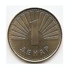 Macedonia 1 denar 1997 Alama KM-2 UNC !!!, Europa