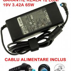 Incarcator laptop Packard Bell EasyNote TV44HC 90W ORIGINAL, Incarcator standard