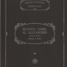 PSB 40 - SF. CHIRIL AL ALEXANDRIEI - SCRIERI - PARTEA A TREIA: DESPRE SF. TREIME - Carti ortodoxe