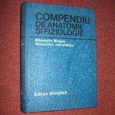 Compendiu de anatomie si fiziologie - Gheorghe Mogos