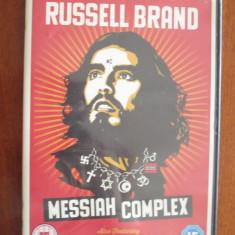 RUSSELL BRAND - MESSIAH COMPLEX - 1 DVD (original din Anglia, stare IMPECABILA!)