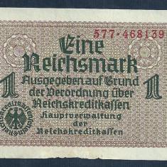 GERMANIA NAZISTA 1 MARCA MARK 1939 1940 1945 [5] VF, Cu zvastica! - bancnota europa