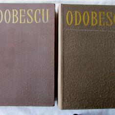 """""""OPERE - 2 vol."""", Vol. I + II, Al. Odobescu, 1967. Ed. critica T. Vianu /Al Dima - Roman"""