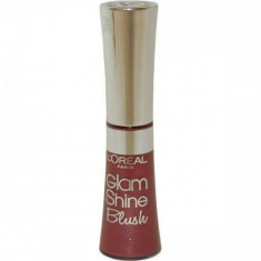 Luciu de buze L'Oreal Paris Glam Shine - 155 Plum Blush - Gloss buze