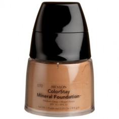 Fond de ten mineral Revlon ColorStay Mineral Foundation - 070 Medium Deep, Compact