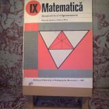 Augustin Cota - Matematica geometrie si trigonometrie manual pentru clasa a IX a