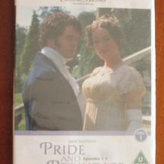 PRIDE AND PREJUDICE - DVD BBC (original din Anglia, in tipla-stare IMPECABILA!)