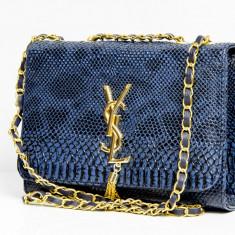 Geanta / Poseta de umar Yves Saint Lauren YSL + Cadou Surpriza - Geanta Dama Yves Saint Laurent, Culoare: Din imagine, Marime: One size, Geanta plic, Asemanator piele