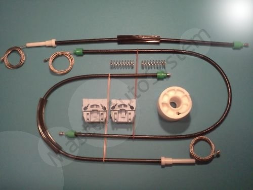 Kit reparatie macara geam  Volkswagen T5 ('03-'11)Stanga fata