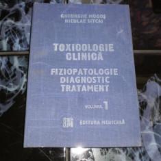 Toxicologie clinica fiziopatologie diagnostic tratament vol l - Carte Diagnostic si tratament