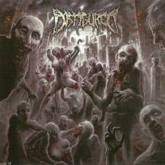 DISFIGURED (US) ‎– Amputated Gorewhore CD 2011 (Brutal Death Metal) NEW