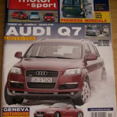 BRf - REVISTA AUTO MOTOR SI SPORT - NR DIN APRILIE 2006 - PIESA DE COLECTIE