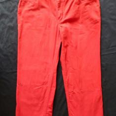 Pantaloni ¾ Tommy Hilfiger; 80 cm talie, 83 cm lungime; impecabili - Pantaloni dama Tommy Hilfiger, Marime: Alta, Culoare: Din imagine, Trei-sferturi, Bumbac