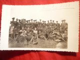 Fotografie- Grup Militari - Promotia 1933 a Scolii de Artilerie Brasov , in 1935