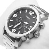 FOSSIL JR1353 Nate Chronograph ! ! ! Produs nou ! ORIGINAL ! - Ceas barbatesc Fossil, Fashion, Quartz, Inox, Cronograf