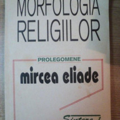 MORFOLOGIA RELIGIILOR-MIRCEA ELIADE