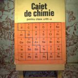 Corneliu Gheorghiu - Caiet de chimie pentru clasa a VII a