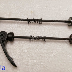 Set Ax fata + spate roata bicicleta ( prindere rapida )