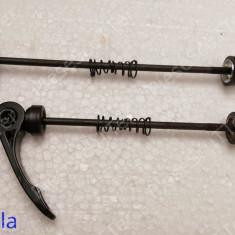 Set Ax fata + spate roata bicicleta ( prindere rapida ) - Piesa bicicleta