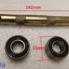 Ax pedalier / pedale ( rulmenti mici ) Bicicleta ruseasca