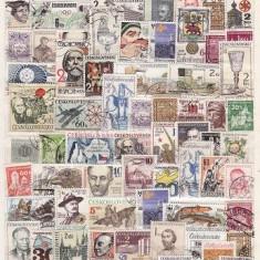 537 - Lot timbre Cehoslovacia