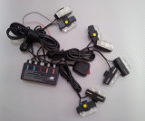 STROBOSCOAPE LED LUMINA ALBA 8 mini proiectoare, Universal