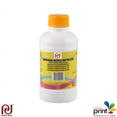 Cerneala refill galbena universala EPSON, 100 ml.