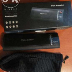 Boxa portabila More Wireless Hipbox, Conectivitate bluetooth: 1, Display LCD: 1
