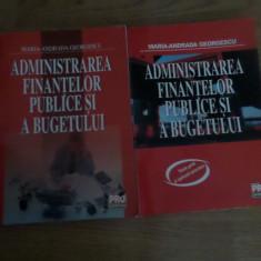 Manuale de drept administrativ si administrarea finantelor publice