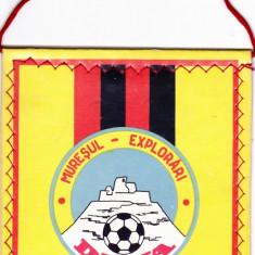Fanion fotbal Muresul Explorari Deva
