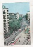 Bnk cp Bucuresti - Vedere spre b-dul Nicolae Balcescu - circulata