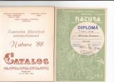 Bnk fil Expozitia filatelica Natura `88 Timisoara