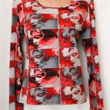 Bluza model deosebit, marimea M, Maneca lunga, Din imagine