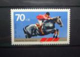 GERMANIA 1978 – SPORT OLIMPIC HIPISM, timbru nestampilat B7