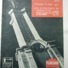 REVISTA FLACARA { NUMARUL 4 ANUL 1957 }