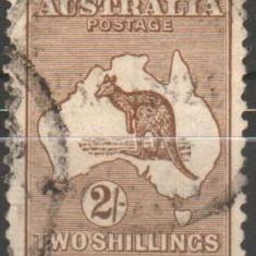 AUSTRALIA, 1915, stampilat