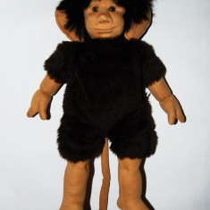 DD Jucarie decor maimuta / maimutoi 52 cm, vintage, colectie deosebita expresiva - Jucarii plus