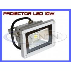 PROIECTOR LED 10W ECHIVALENT 100W - 900 LUMENI, IP65, ILUMINAT EXTERIOR, 220V