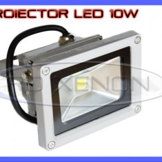 PROIECTOR LED 10W ECHIVALENT 100W - 900 LUMENI, IP65, ILUMINAT EXTERIOR, 220V - Corp de iluminat ZDM, Proiectoare