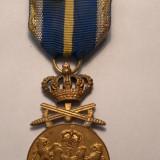 Medalia Serviciu CRedincios Cu spade Clasa I