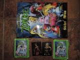 """Plicuri cu stickere din animatia """"Once upon a zombie"""""""