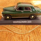 WARSZAWA 223, DE AGOSTINI .1/43 - Macheta auto