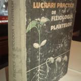 Lucrari practice de fiziologia plantelor -Emilia Cupcea + colab. - Carte Biologie