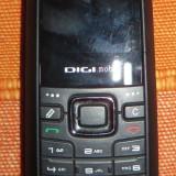 Telefon DIGI HUAWEI U1000s cu defect - Telefon Huawei, Negru, Nu se aplica, RDS-Digi Mobil, Single SIM, Fara procesor