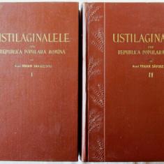 USTILAGINALELE DIN REPUBLICA POPULARA ROMANA, Vol. I+II, Acad. Traian Savulescu - Carti Agronomie
