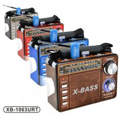 Radio MP3 portabil Waxiba XB-1063URT, Analog