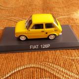 FIAT 126 P .DE AGOSTINI 1/43 - Macheta auto