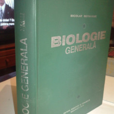 Biologie generala - N. Botnariuc