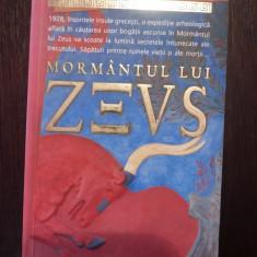 MORMANTUL LUI ZEUS -- Barbara Cleverly -- 2008, 502 p.