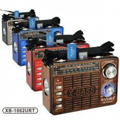 Radio MP3 portabil Waxiba XB-1062URT, Analog